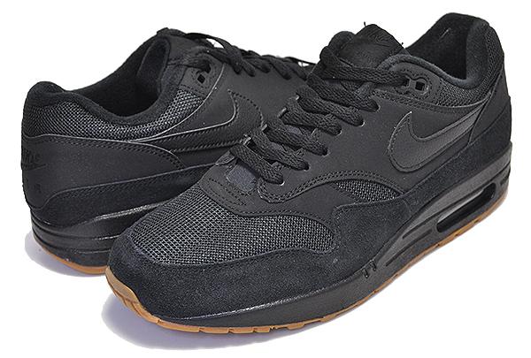 air max 1 black gum sole