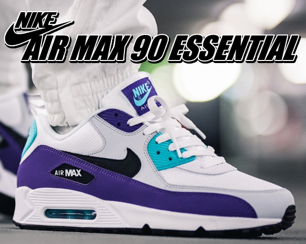 arrives check out hot sale Under all the shopping marathon, the shop product reductions in price! NIKE  AIR MAX 90 ESSENTIAL white/black-hyper jade sneakers men AIRMAX Air Max ...