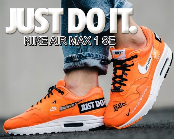 sports shoes 5475d 31c53 Clothing, Shoes   Accessories AUTHENTIC NIKE Air Max 1 SE JDI Total Orange  White Black AO1021 800 Men size