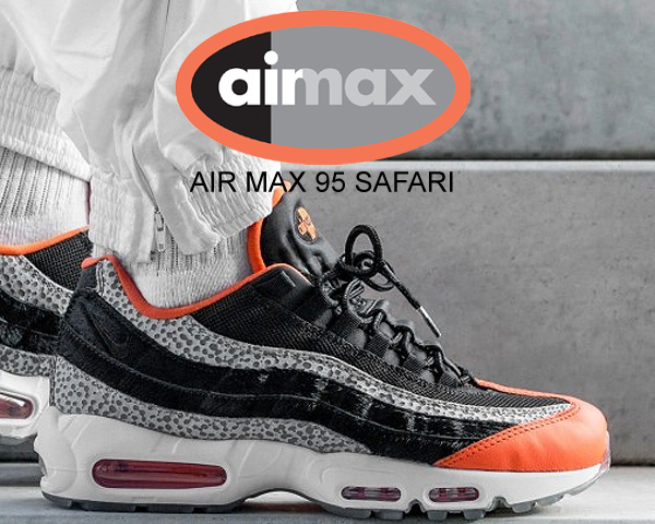 Among published by advantageous discount coupon! NIKE AIR MAX 95 SAFARI blackblack granite