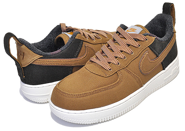 Among published by advantageous discount coupon! NIKE AIR FORCE 1 PREMIUM(PS) CARHARTT ale brownale brown sail