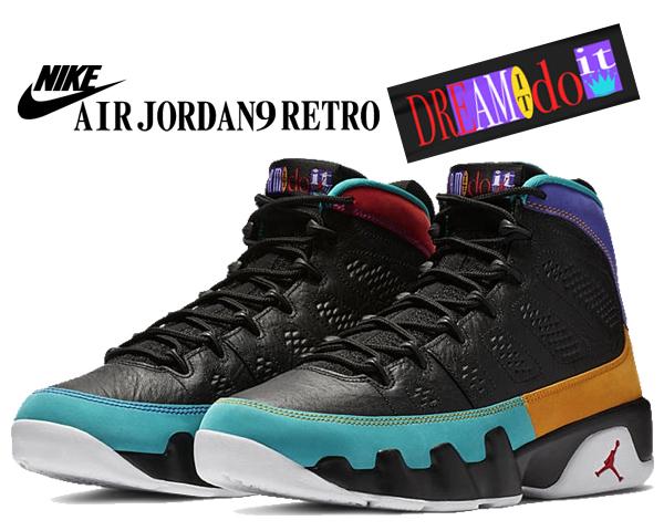 san francisco a3db4 22762 Among published by advantageous discount coupon! NIKE AIR JORDAN 9 RETRO  Dream It Do It black/university red 302,370-065 sneakers AJ IX FLIGHT ...