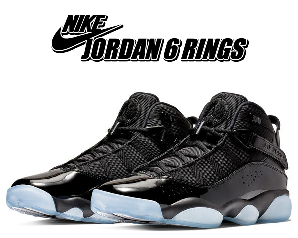 hot sales 5c6b6 54816 Among published by advantageous discount coupon! NIKE JORDAN 6 RINGS SPACE  JAM black/black-white 322,992-011 sneakers basketball shoes AJ SIX RINGS