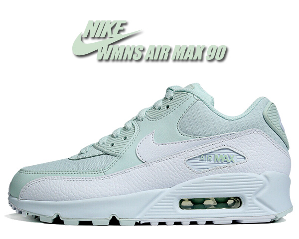Among published by advantageous discount coupon! NIKE WMNS AIR MAX 90 ghost aquawhite white 325,213 419 sneakers Lady's girls Air Max 90 aqua