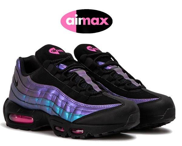 Nike Air Max 95 Premium BlackLaser Fuchsia 538416 021