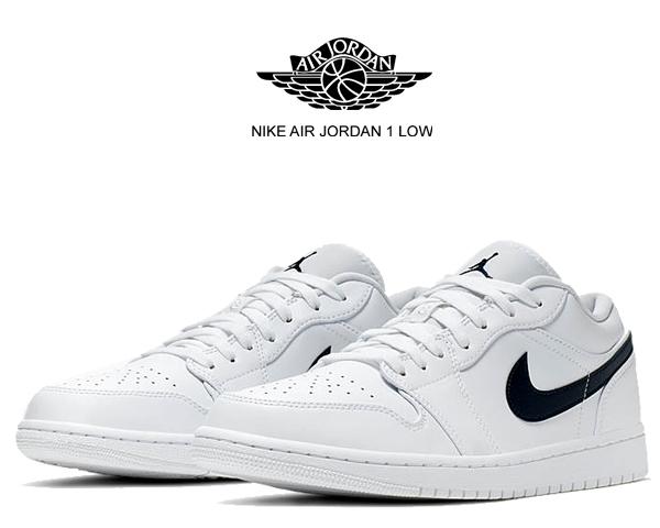 air jordan 1 low white navy