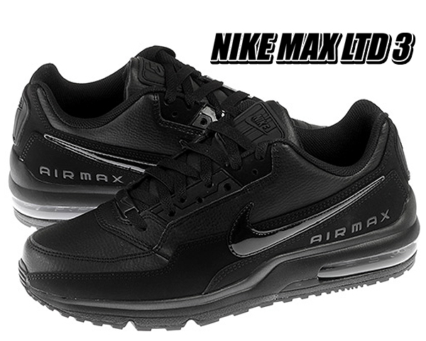 Among published by advantageous discount coupon! NIKE AIR MAX LTD 3 blackblack black 687,977 020 sneakers Air Max black