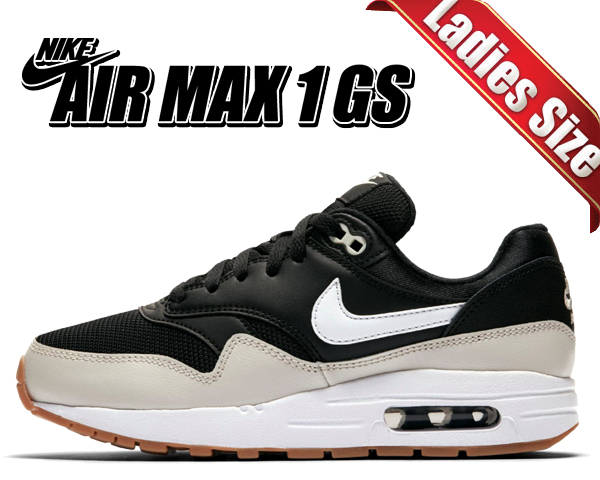 new concept 569ac 5a4c9 Among published by advantageous discount coupon! NIKE AIR MAX 1(GS) black   ...