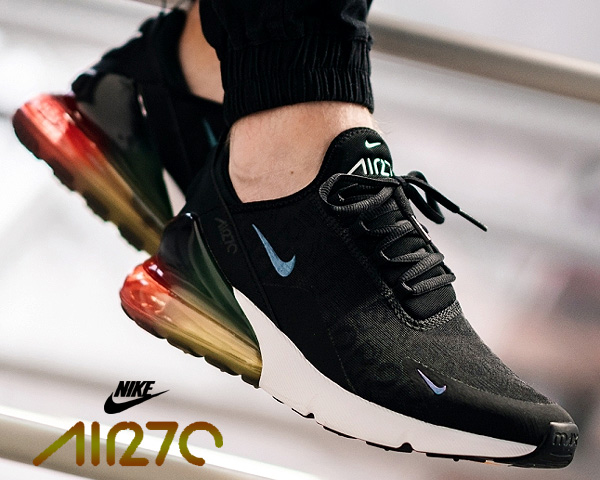Among published by advantageous discount coupon! NIKE AIR MAX 270 SE blackblack laser orange aq9164 003 BLACK MULTI sneakers men Air Max 270