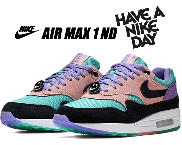 Nike Air Max 1 Nd Have a Nike Day Space Purple Black Bq8929