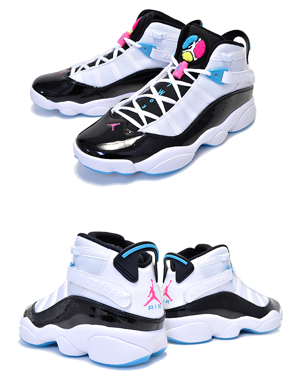 huge discount 60f3b 5ceff Among published by advantageous discount coupon! NIKE JORDAN 6 RINGS  white/black-hyper pink ck0017-100 sneakers AJ SIX RINGS