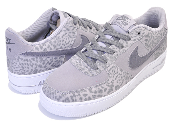 Among published by advantageous discount coupon! NIKE AIR FORCE 1 LV8(GS) atmosphere greygunsmoke white 849,345 001 Lady's Leo soft headed DOS knee