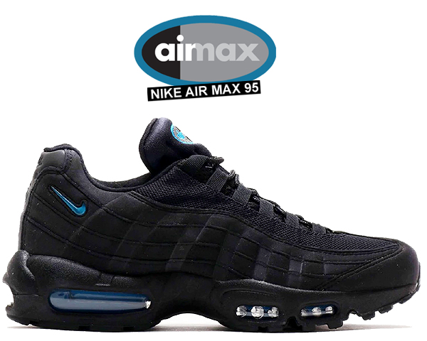 timeless design a4049 de759 Among published by advantageous discount coupon! NIKE AIR MAX 95  black/imperial blue cj7553-001 AM95 sneakers black Imperial blue