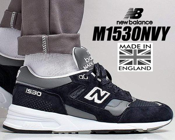お得な割引クーポン発行中!!【送料無料 ニューバランス M1530 UK】NEW BALANCE M1530NVY Made in England スニーカー NB 1500 30th Anniversary UK 1530 ネイビー width D