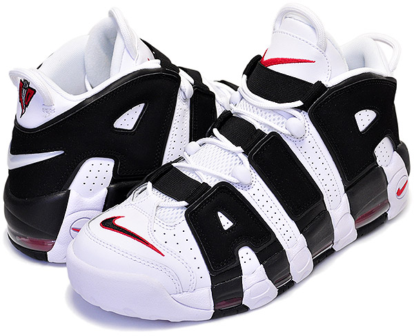 Among published by advantageous discount coupon! NIKE AIR MORE UPTEMPO  white/black-university red MORE UPTEMPO