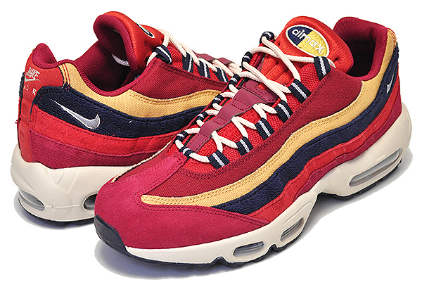best website b7ccb d17da Among published by advantageous discount coupon! NIKE AIR MAX 95 PREMIUM  red crush/provence purple