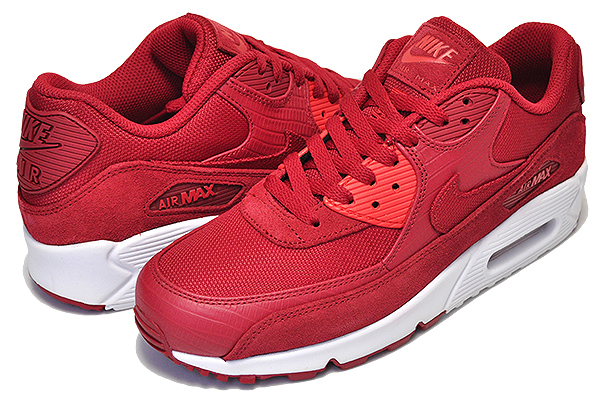 Among published by advantageous discount coupon! NIKE AIR MAX 90 PREMIUM gym redgym red white