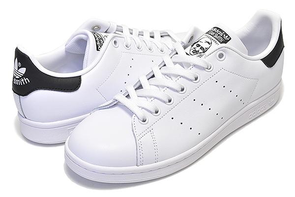 お得な割引クーポン発行中!!【アディダス スタンスミス】adidas STAN SMITH WHITE/BLACK 【レディース スニーカー 白 金 ホワイト ブラック スタンスミス ウィメンズ メンズ ユニセックス 靴】