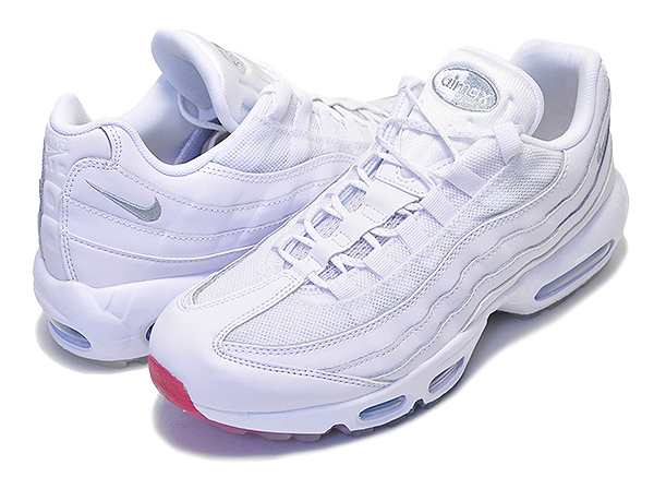 2d47e97244 Among published by advantageous discount coupon! NIKE AIR MAX 95 white/metallic  silver ...