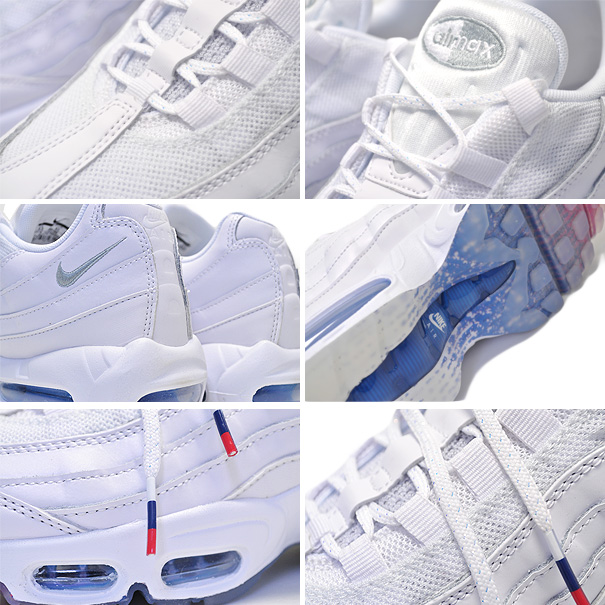 b5b6410fb4 ... Among published by advantageous discount coupon! NIKE AIR MAX 95 white/metallic  silver