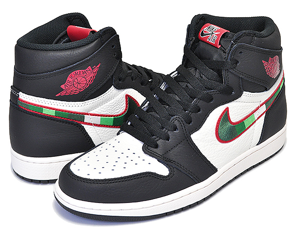 お得な割引クーポン発行中!!【ナイキ エアジョーダン 1 ハイ OG】NIKE AIR JORDAN 1 RETRO HIGH OG A STAR IS BORN black/varsity red-sail 【スニーカー AJ1 SPORTS ILLUSTRATED】