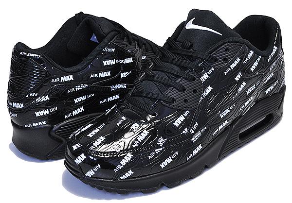 Nike Air Max 90 Patent WhiteWhiteWhite Lifestyle Shoes