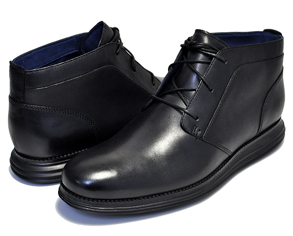 お得な割引クーポン発行中!!【コールハーン】COLE HAAN ORIGINAL GRAND CHKKA BLACK/BLACK ワイズMEDIUM 【メンズ 靴 ビジネスシューズ カジュアル チャッカ ビジネス ブーツ】