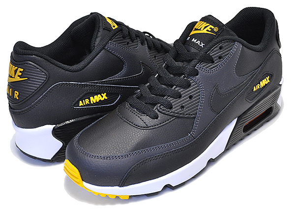 best loved e4f96 a4e84 Among published by advantageous discount coupon! NIKE AIR MAX 90 LTR (GS)  black/amarillo-anthracite 833,412-029 sneakers Air Max 90 black yellow
