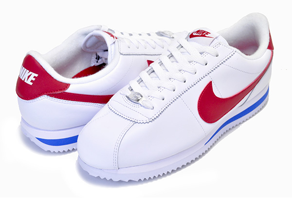 new style 69240 c7cae Among published by advantageous discount coupon! NIKE CORTEZ BASIC LEATHER  OG white/v.red 882,254-164 スニーカーコルテッツフォレストガンプ Forrest Gump