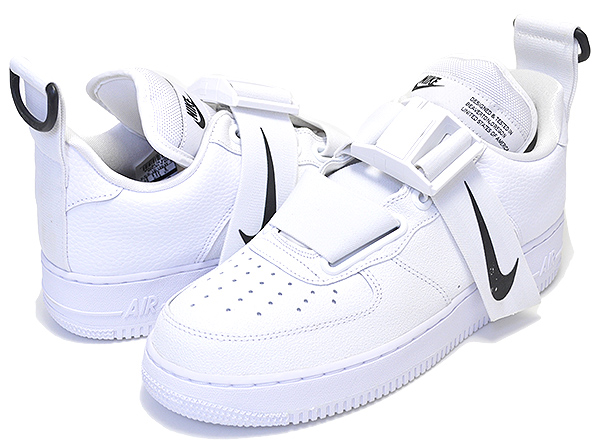 Among published by advantageous discount coupon! NIKE AIR FORCE 1 UTILITY whitewhite black ao1531 101 sneakers AF1 white black