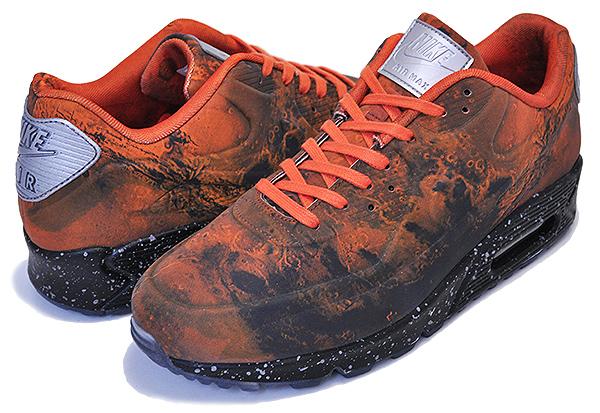 お得な割引クーポン発行中!!【ナイキ エアマックス 90 マーズランディング】NIKE AIR MAX 90 QS MARS LANDING mars stone/magma orange cd0920-600 火星 リフレクター スニーカー