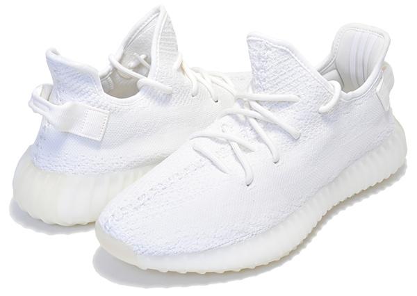 お得な割引クーポン発行中!!【アディダス イージー ブースト 350 V2】adidas YEEZY BOOST 350 V2 TRIPLE WHITE cwhite/cwhite/cwhite cp9366