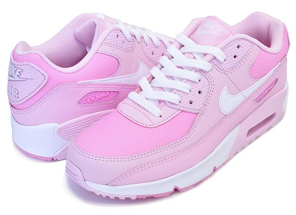お得な割引クーポン発行中!!【ナイキ エアマックス 90 ガールズ】NIKE AIR MAX 90 GS pink foam/white-pink rise cv9648-600 レディース スニーカー キッズ AM90 30th 30周年 ピンク