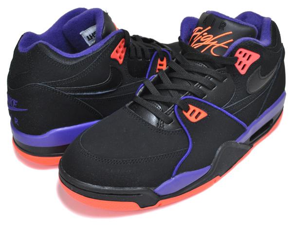 お得な割引クーポン発行中!!【あす楽 対応!!】【ナイキ エア フライト 89 サンズ】NIKE AIR FLIGHT 89 Phoenix Suns blk/court purple cu4838-001 スニーカー フェニックス サンズ ブラック パープル オレンジ