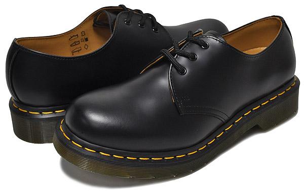 お得な割引クーポン発行中!!【ドクターマーチン 3ホール ギブソン レディース】【R11837002】Dr.Martens 1461W 3EYE GIBSON BLACK カジュアル ブラック ウィメンズ 靴 3アイレット