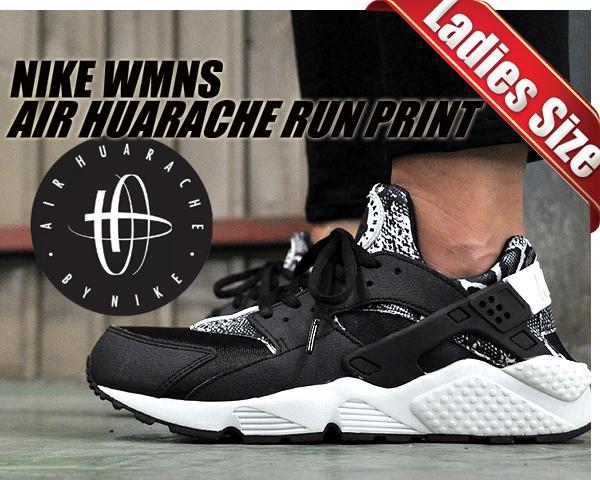 huge selection of bd6a9 e79ce ltd-sports NIKE WMNS AIR HUARACHE RUN PRINT blkpure platinum  Rakuten  Global Market