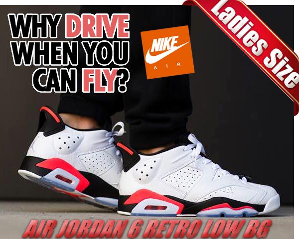 sports shoes 21acd 8f8b4 NIKE AIR JORDAN 6 RETRO LOW BG