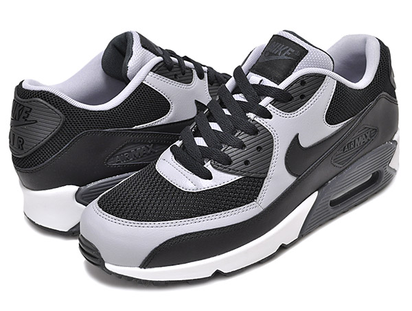 Among published by advantageous discount coupon! NIKE AIR MAX 90 ESSENTIAL blkblk w.gry anthrct 537,384 053