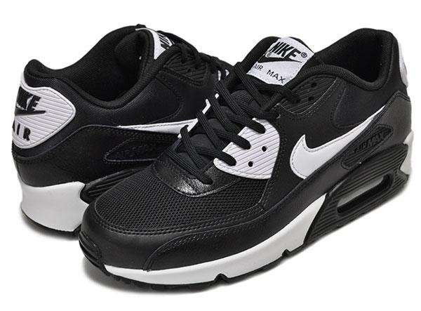 separation shoes de92a b60bb NIKE WMNS AIR MAX 90 ESSENTIAL blk wht-m.slv
