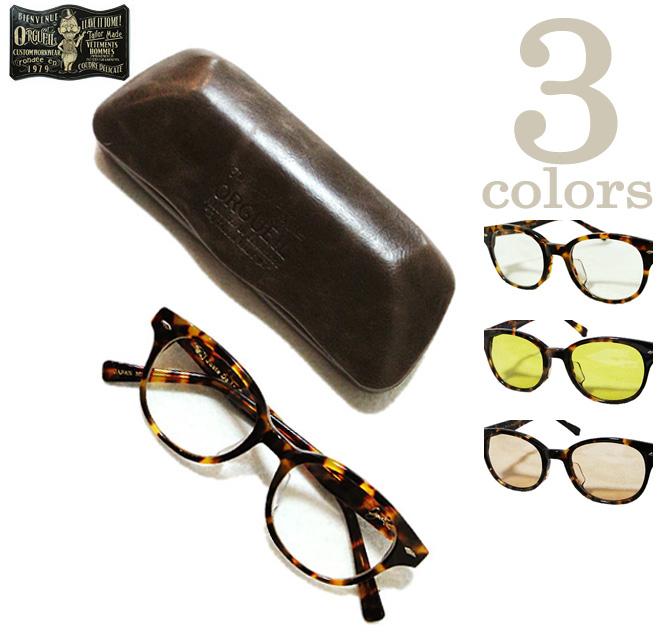 【 ORGUEIL(オルゲイユ) 】 OR-7065D オリジナルボストンタイプメガネ [ CLASSIC STYLE BOSTON GLASSES ] [ 眼鏡(メガネ) ] [ アメカジ ] [ メンズ ] [ 送料・代引き手数料無料 ]