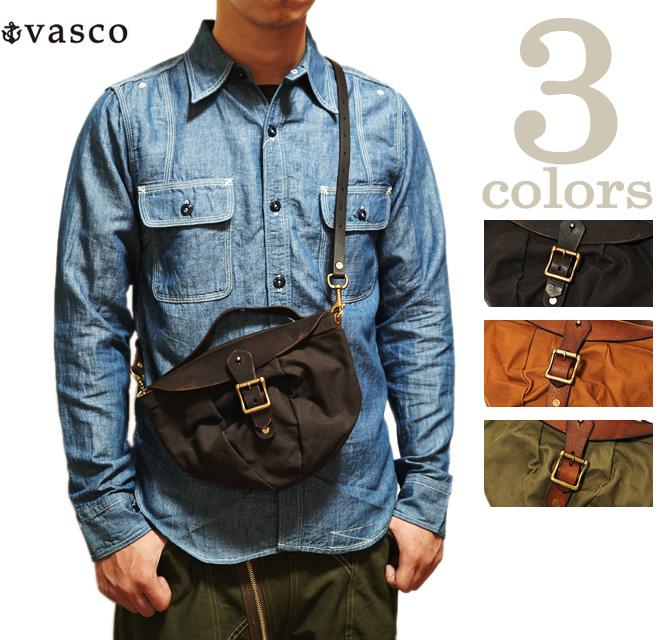 【 vasco(ヴァスコ) 】 VSRE-243P キャスバッグ [ CAS BAG ] [ バッグ・鞄 ] [ アメカジ ] [ メンズ ] [ 送料・代引き手数料無料 ]