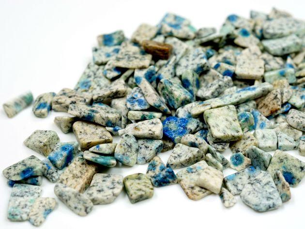 K2ブルー アズライト 1,000g さざれチップ  【浄化・エネルギーチャージ】