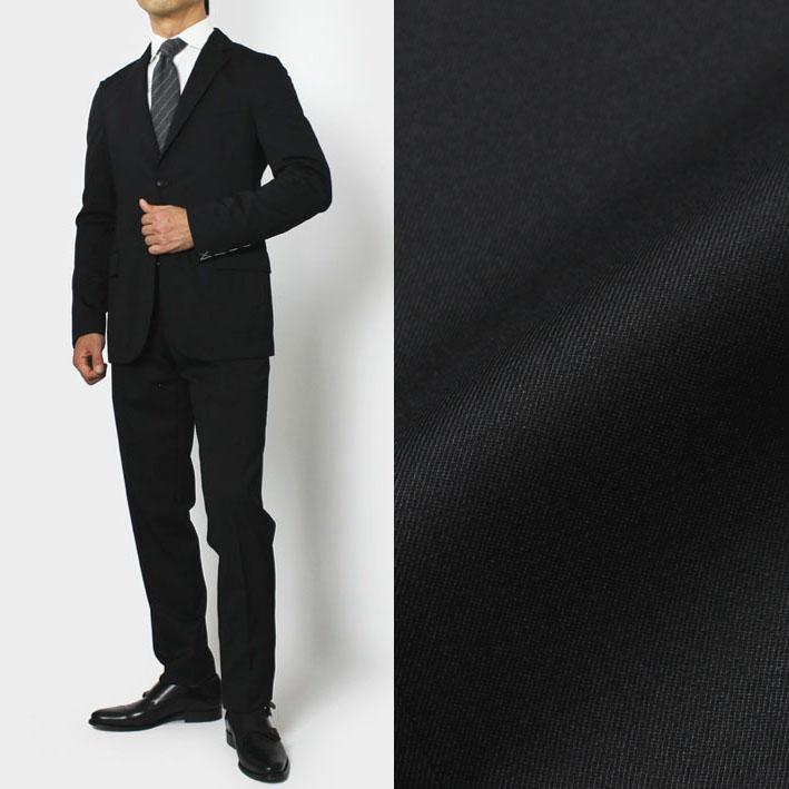 ボリオリ / BOGLIOLI / カサーティ / CASATI / スーツ / ウール サージ ストレッチ 2B【ブラック】【SALE50】