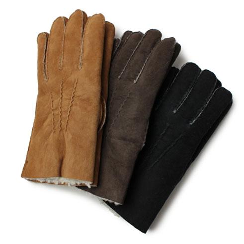 ラボニア / Labonia / ムートン グローブ / 手袋 / イタリア製【キャメル/ブラウン/ブラック】