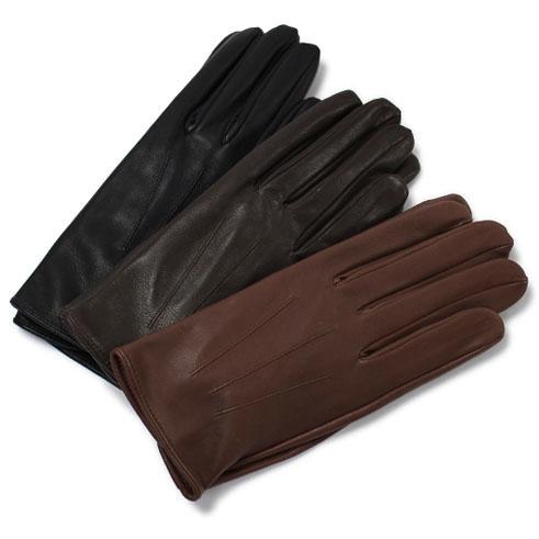 デンツ / DENTS / グローブ / 手袋 / イングランド製 ヘアシープレザー アンライニング【ENGLISH TAN/BROWN/BLACK】