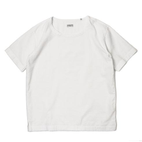 バグッタ / BAGUTTA / Tシャツ / 「Albini社」コットン モール布帛【ホワイト】【SALE30】