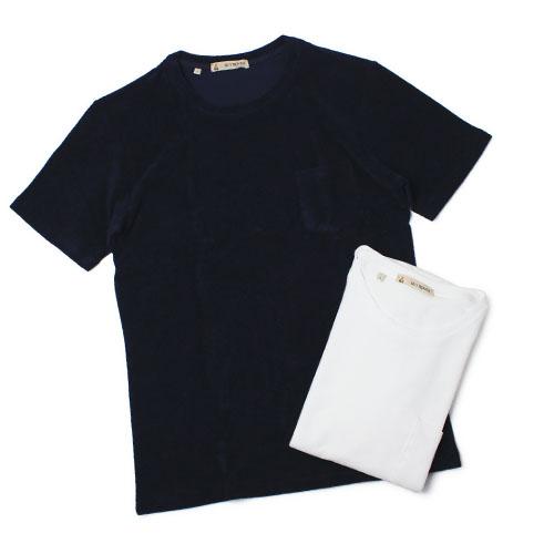 Tシャツ メンズ パイル GUY ROVER ネイビー TC442 581501 05