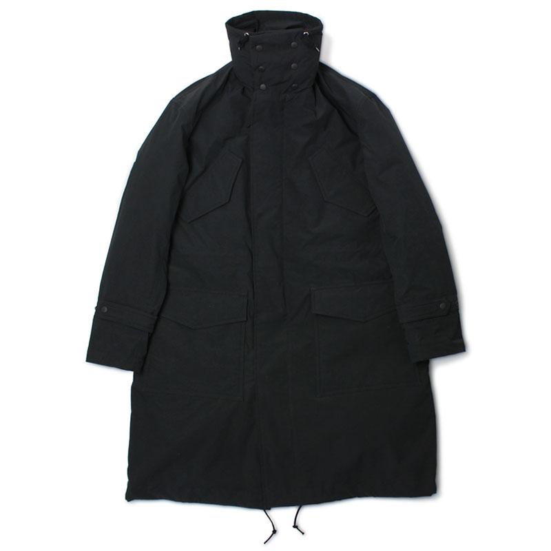 ニューズレス / NYUZELESS / ダウンライナー スタンドカラー モッズ コート / 205-5004【ブラック】【SALE30】