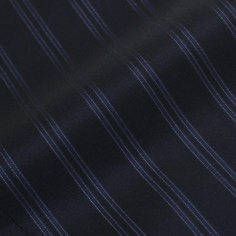 【SALE30】S/S 新作 PT01 ( PTゼロウーノ ) / CARROT FIT / コットン クラブ ストライプ ツープリーツ パンツ【CPZS/TG33】【0360.ネイビー】