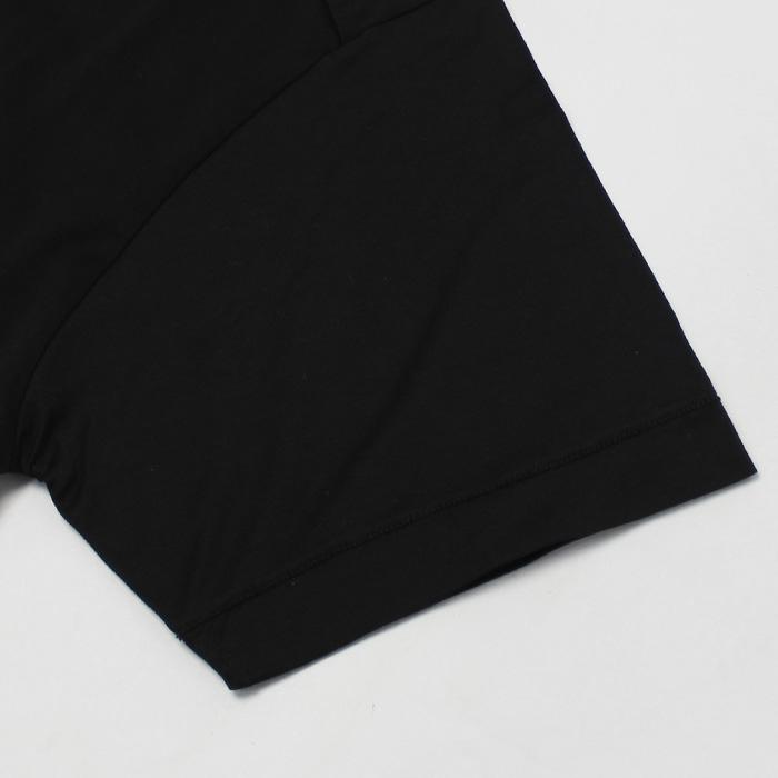 【国内正規品】S/S 新作 STONE ISLAND ( ストーン アイランド ) / 701524113 / コットン クルーネック 半袖 Tシャツ【ホワイト/ブラック】